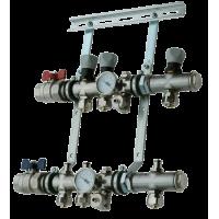 Модуль наращивания для распределительного коллектора на 1 контур 50051-6